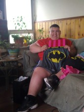Drew and his love for Batman