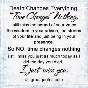 death-changes