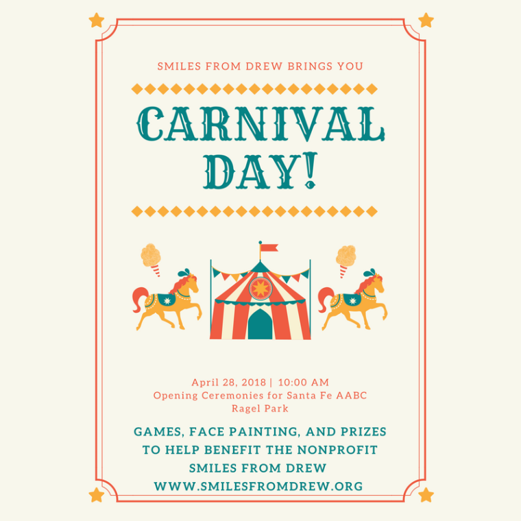 Colorful Bordered Carnival Poster
