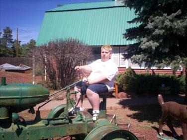 Drew at Farm Grand Canyon trip
